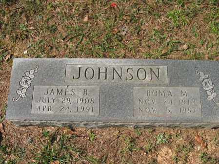 JOHNSON, JAMES B - White County, Arkansas   JAMES B JOHNSON - Arkansas Gravestone Photos
