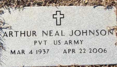 JOHNSON (VETERAN), ARTHUR NEAL - White County, Arkansas   ARTHUR NEAL JOHNSON (VETERAN) - Arkansas Gravestone Photos