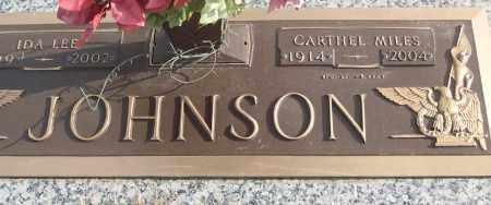 JOHNSON (VETERAN), CARTHEL MILES - White County, Arkansas | CARTHEL MILES JOHNSON (VETERAN) - Arkansas Gravestone Photos
