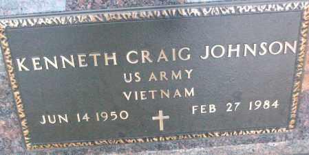 JOHNSON (VETERAN VIET), KENNETH CRAIG - White County, Arkansas | KENNETH CRAIG JOHNSON (VETERAN VIET) - Arkansas Gravestone Photos