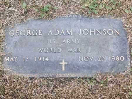 JOHNSON (VETERAN WWII), GEORGE ADAM - White County, Arkansas | GEORGE ADAM JOHNSON (VETERAN WWII) - Arkansas Gravestone Photos