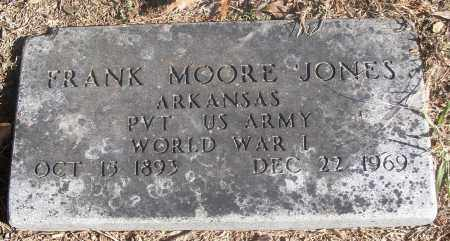 JONES  (VETERAN WWI), FRANK MOORE - White County, Arkansas | FRANK MOORE JONES  (VETERAN WWI) - Arkansas Gravestone Photos