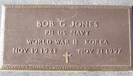 JONES (VETERAN 2 WARS), BOB C - White County, Arkansas | BOB C JONES (VETERAN 2 WARS) - Arkansas Gravestone Photos