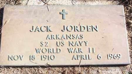 JORDEN (VETERAN WWII), JACK - White County, Arkansas   JACK JORDEN (VETERAN WWII) - Arkansas Gravestone Photos