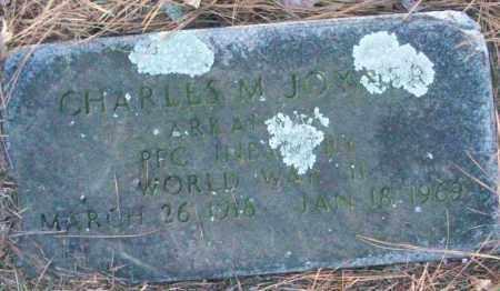 JOYNER (VETERAN WWII), CHARLES M - White County, Arkansas   CHARLES M JOYNER (VETERAN WWII) - Arkansas Gravestone Photos