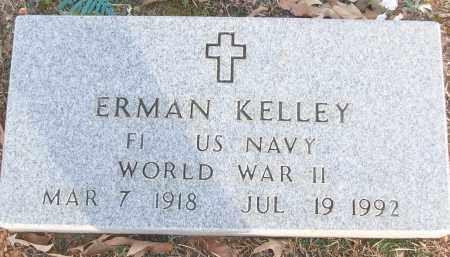 KELLEY (VETERAN WWII), ERMAN - White County, Arkansas   ERMAN KELLEY (VETERAN WWII) - Arkansas Gravestone Photos
