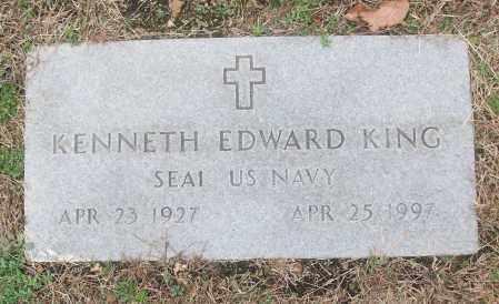 KING  (VETERAN), KENNETH EDWARD - White County, Arkansas | KENNETH EDWARD KING  (VETERAN) - Arkansas Gravestone Photos