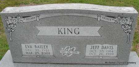 KING, EVA - White County, Arkansas | EVA KING - Arkansas Gravestone Photos