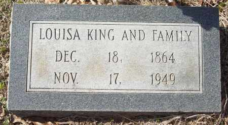 KING, LOUISA - White County, Arkansas | LOUISA KING - Arkansas Gravestone Photos