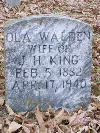 KING, OLA - White County, Arkansas | OLA KING - Arkansas Gravestone Photos