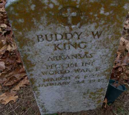 KING (VETERAN WWII), BUDDY W - White County, Arkansas | BUDDY W KING (VETERAN WWII) - Arkansas Gravestone Photos