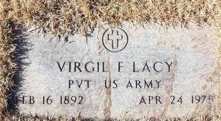 LACY (VETERAN), VIRGIL F - White County, Arkansas | VIRGIL F LACY (VETERAN) - Arkansas Gravestone Photos