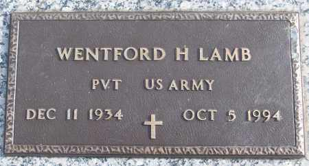 LAMB (VETERAN), WENTFORD H - White County, Arkansas | WENTFORD H LAMB (VETERAN) - Arkansas Gravestone Photos