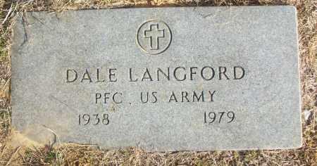 LANGFORD (VETERAN), DALE - White County, Arkansas | DALE LANGFORD (VETERAN) - Arkansas Gravestone Photos