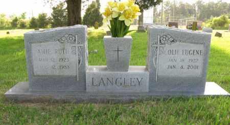 LANGLEY, COLIE EUGENE - White County, Arkansas | COLIE EUGENE LANGLEY - Arkansas Gravestone Photos
