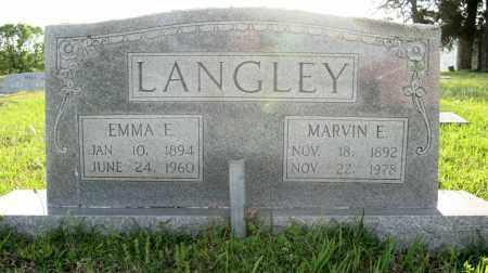LANGLEY, EMMA E - White County, Arkansas | EMMA E LANGLEY - Arkansas Gravestone Photos