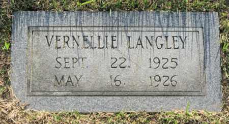 LANGLEY, VERNELLIE - White County, Arkansas   VERNELLIE LANGLEY - Arkansas Gravestone Photos