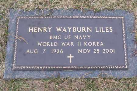 LILES (VETERAN 2 WARS), HENRY WAYBURN - White County, Arkansas   HENRY WAYBURN LILES (VETERAN 2 WARS) - Arkansas Gravestone Photos