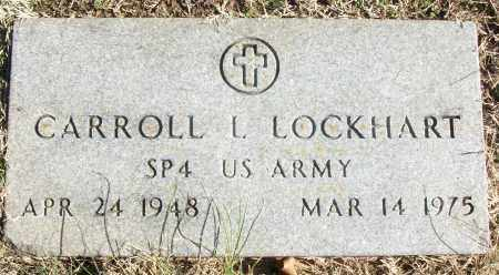 LOCKHART (VETERAN), CARROLL L - White County, Arkansas | CARROLL L LOCKHART (VETERAN) - Arkansas Gravestone Photos