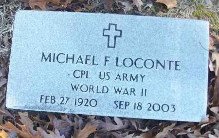 LOCONTE (VETERAN WWII), MICHAEL F - White County, Arkansas | MICHAEL F LOCONTE (VETERAN WWII) - Arkansas Gravestone Photos