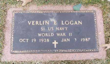 LOGAN  (VETERAN WWII), VERLIN E - White County, Arkansas | VERLIN E LOGAN  (VETERAN WWII) - Arkansas Gravestone Photos