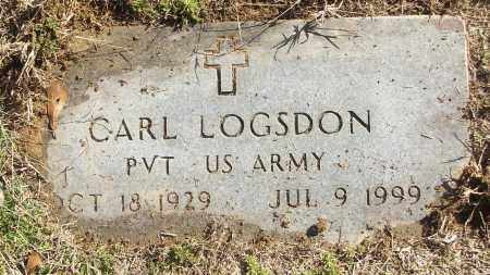 LOGSDON (VETERAN), CARL - White County, Arkansas | CARL LOGSDON (VETERAN) - Arkansas Gravestone Photos
