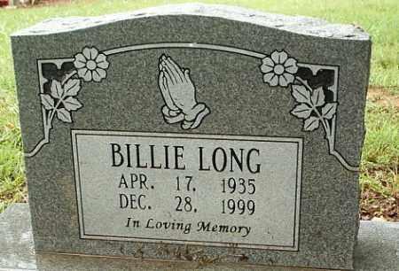LONG, BILLIE LEE - White County, Arkansas | BILLIE LEE LONG - Arkansas Gravestone Photos