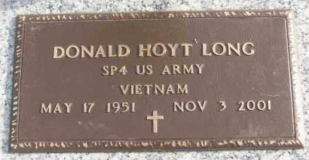 LONG (VETERAN VIET), DONALD HOYT - White County, Arkansas | DONALD HOYT LONG (VETERAN VIET) - Arkansas Gravestone Photos