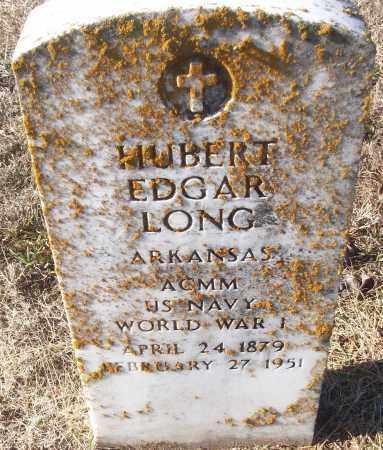 LONG (VETERAN WWI), HUBERT EDGAR - White County, Arkansas   HUBERT EDGAR LONG (VETERAN WWI) - Arkansas Gravestone Photos