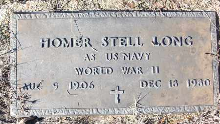 LONG (VETERAN WWII), HOMER STELL - White County, Arkansas   HOMER STELL LONG (VETERAN WWII) - Arkansas Gravestone Photos