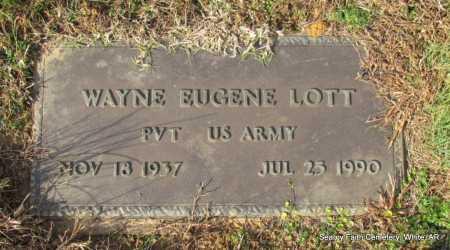 LOTT  (VETERAN), WAYNE EUGENE - White County, Arkansas | WAYNE EUGENE LOTT  (VETERAN) - Arkansas Gravestone Photos