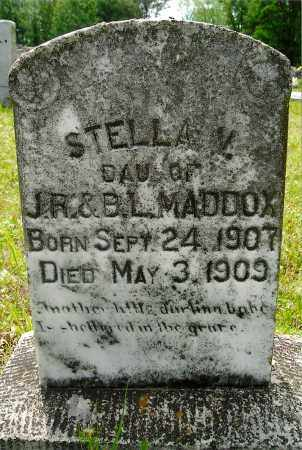 MADDOX, STELLA V. - White County, Arkansas | STELLA V. MADDOX - Arkansas Gravestone Photos
