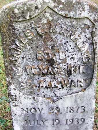 MANNING (VETERAN SAW), JAMES E - White County, Arkansas | JAMES E MANNING (VETERAN SAW) - Arkansas Gravestone Photos