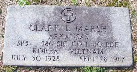 MARSH (VETERAN 2 WARS), CLARK L - White County, Arkansas   CLARK L MARSH (VETERAN 2 WARS) - Arkansas Gravestone Photos