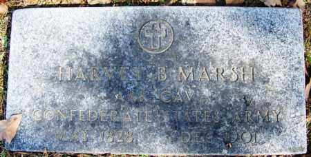 MARSH (VETERAN CSA), HARVEY B - White County, Arkansas | HARVEY B MARSH (VETERAN CSA) - Arkansas Gravestone Photos