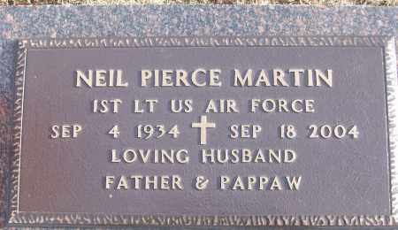 MARTIN (VETERAN), NEIL PIERCE - White County, Arkansas | NEIL PIERCE MARTIN (VETERAN) - Arkansas Gravestone Photos