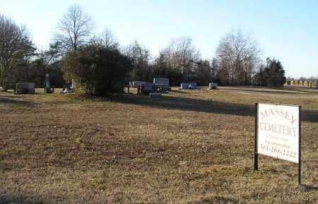 *MASSEY CEMETERY VIEW,  - White County, Arkansas |  *MASSEY CEMETERY VIEW - Arkansas Gravestone Photos