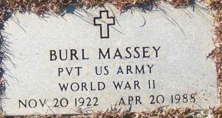 MASSEY (VETERAN WWII), BURL - White County, Arkansas | BURL MASSEY (VETERAN WWII) - Arkansas Gravestone Photos