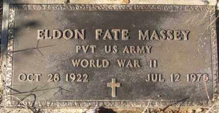MASSEY (VETERAN WWII), ELDON FATE - White County, Arkansas | ELDON FATE MASSEY (VETERAN WWII) - Arkansas Gravestone Photos