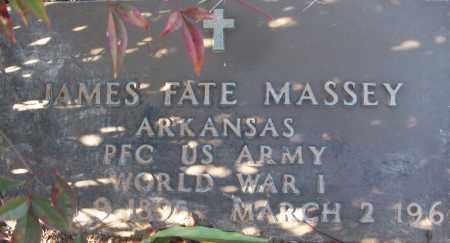 MASSEY (VETERAN WWI), JAMES FATE - White County, Arkansas | JAMES FATE MASSEY (VETERAN WWI) - Arkansas Gravestone Photos