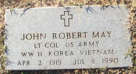 MAY (VETERAN 3 WARS), JOHN ROBERT - White County, Arkansas | JOHN ROBERT MAY (VETERAN 3 WARS) - Arkansas Gravestone Photos