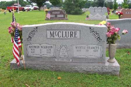 MCCLURE, MYRTLE FRANCES - White County, Arkansas | MYRTLE FRANCES MCCLURE - Arkansas Gravestone Photos