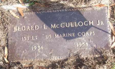 MCCULLOCH,  JR  (VETERAN), ELDRED L. - White County, Arkansas | ELDRED L. MCCULLOCH,  JR  (VETERAN) - Arkansas Gravestone Photos
