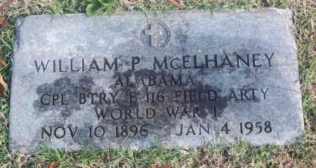MCELHANEY  (VETERAN WWI), WILLIAM P. - White County, Arkansas | WILLIAM P. MCELHANEY  (VETERAN WWI) - Arkansas Gravestone Photos
