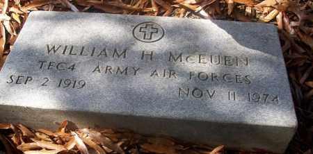 MCEUEN  (VETERAN), WILLIAM H - White County, Arkansas   WILLIAM H MCEUEN  (VETERAN) - Arkansas Gravestone Photos