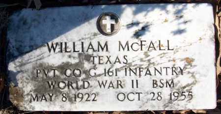 MCFALL (VETERAN WWII), WILLIAM - White County, Arkansas | WILLIAM MCFALL (VETERAN WWII) - Arkansas Gravestone Photos