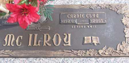 MCILROY (VETERAN WWII), CARNIE CLAY - White County, Arkansas   CARNIE CLAY MCILROY (VETERAN WWII) - Arkansas Gravestone Photos