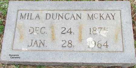 MCKAY, MILA - White County, Arkansas | MILA MCKAY - Arkansas Gravestone Photos