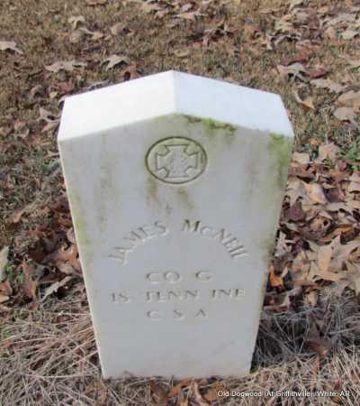 MCNEIL (VETERAN CSA), JAMES - White County, Arkansas | JAMES MCNEIL (VETERAN CSA) - Arkansas Gravestone Photos