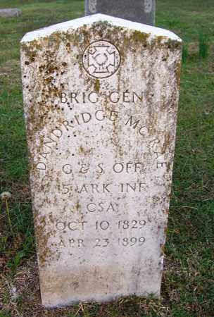 MCRAE (VETERAN CSA), DANDRIDGE - White County, Arkansas | DANDRIDGE MCRAE (VETERAN CSA) - Arkansas Gravestone Photos